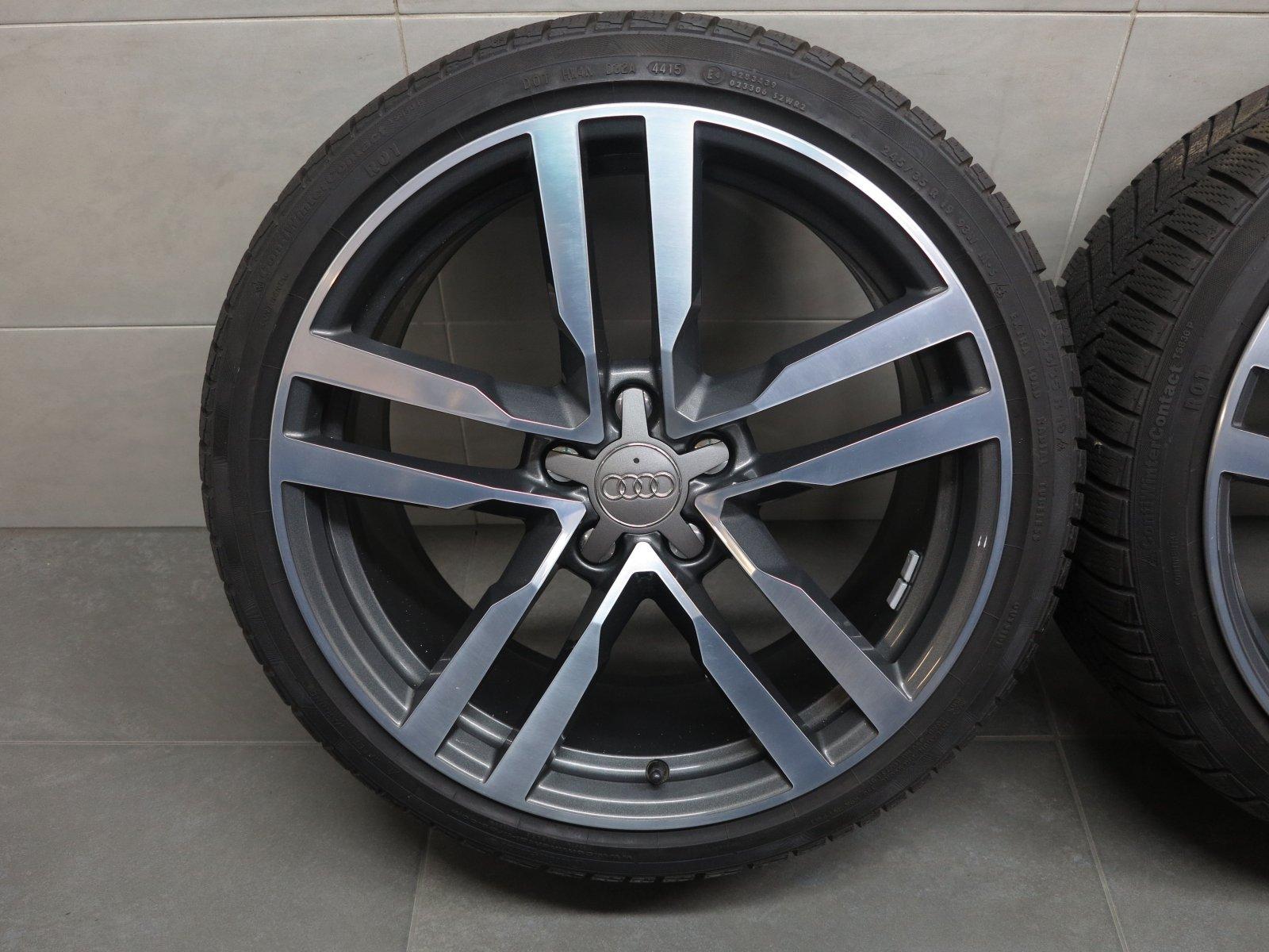 19 inch original winter wheels audi tt tts tt rs roadster rims 8s0601025f zle9 ebay. Black Bedroom Furniture Sets. Home Design Ideas