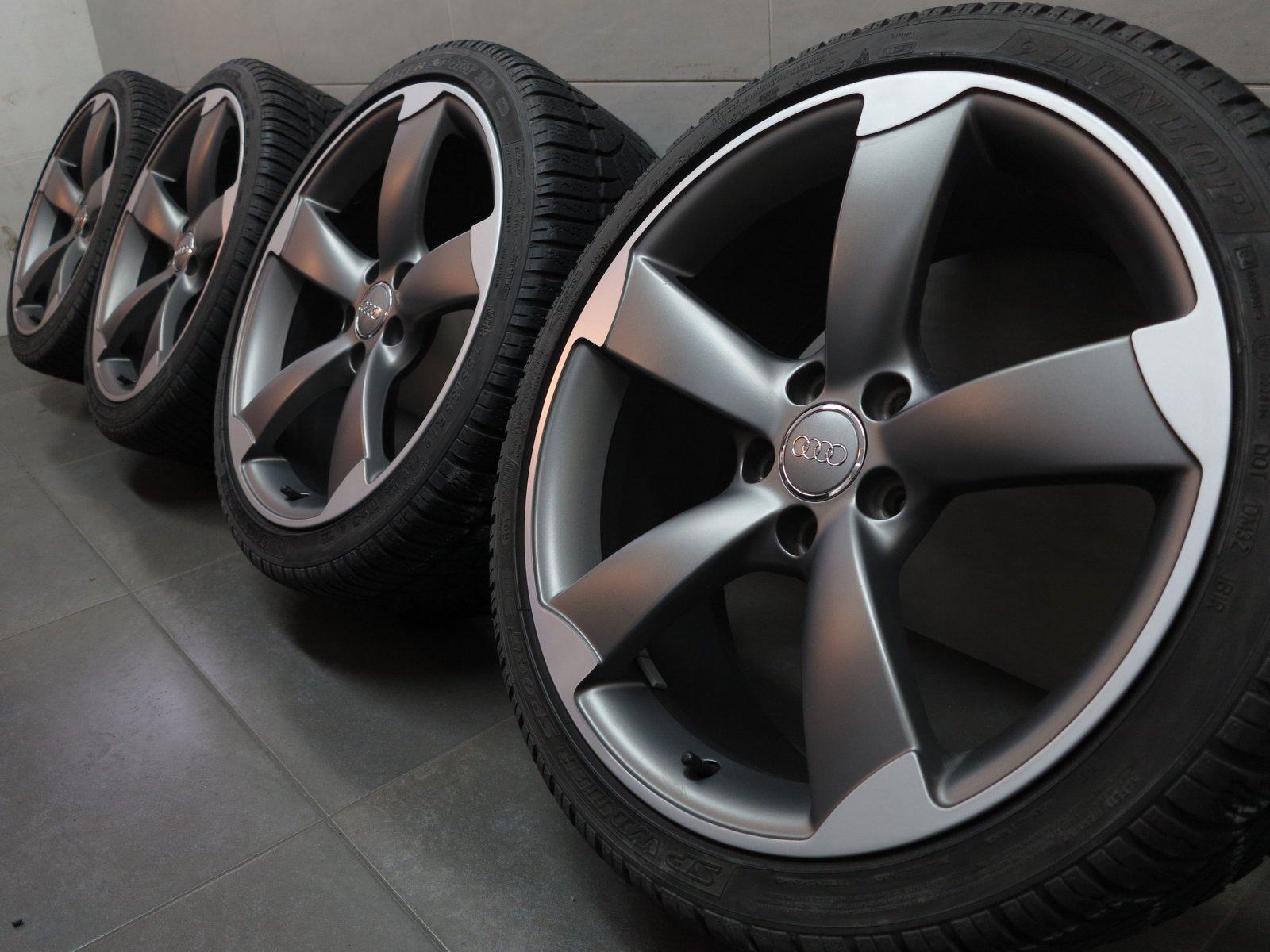 19 Inch Winter Wheels Original Audi A4 S4 8k B8 Rotor S Line
