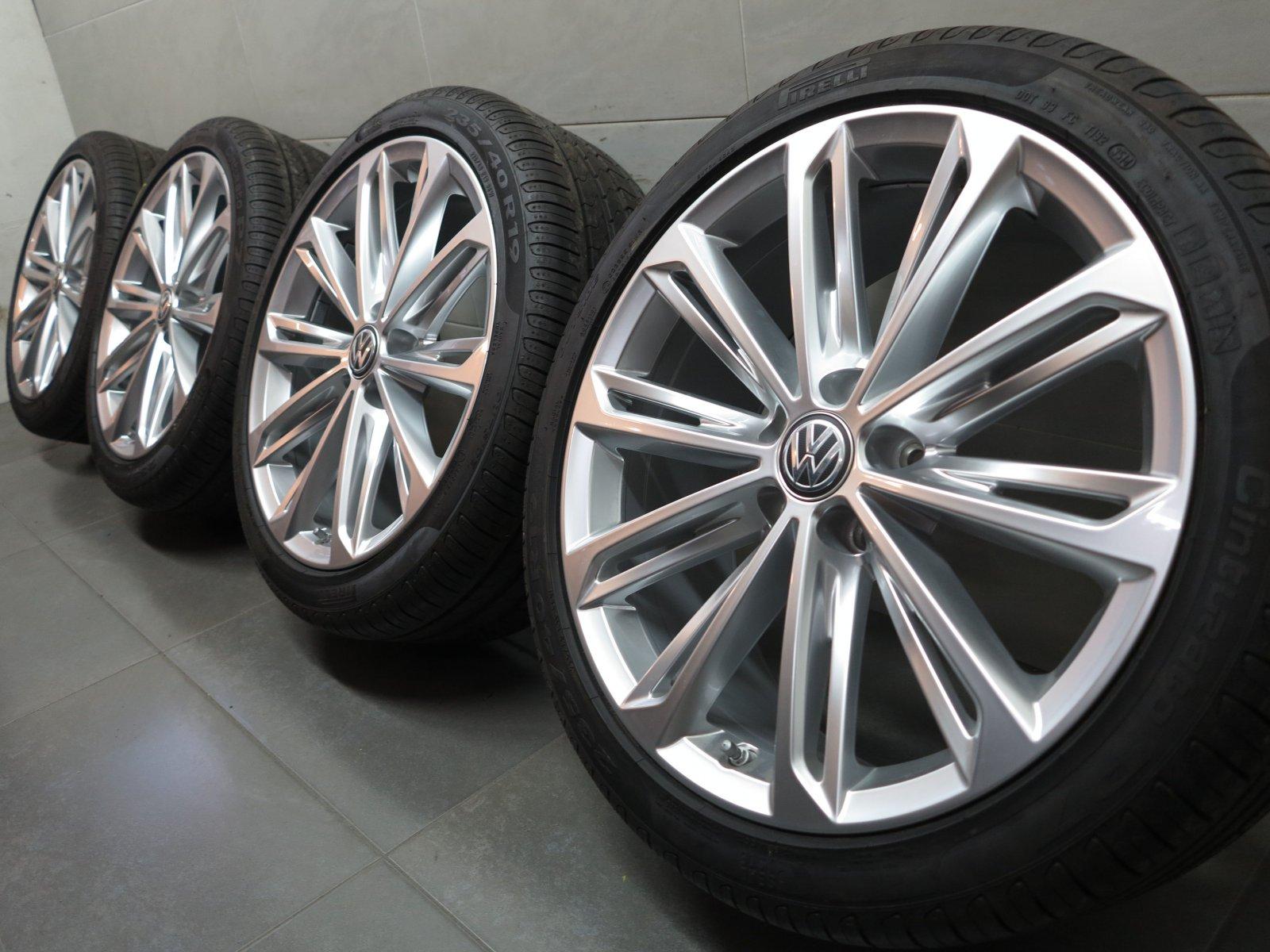 19 Inch Summer Wheels Original Vw Passat 3g B8 Verona Rims
