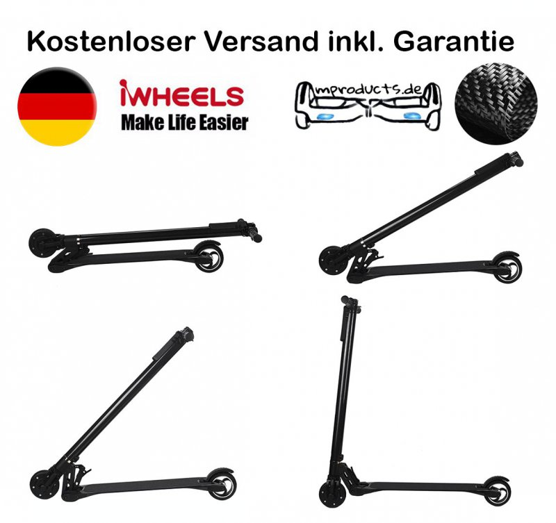 e scooter ultra leicht 6 9 kg karbon neues modell mit. Black Bedroom Furniture Sets. Home Design Ideas