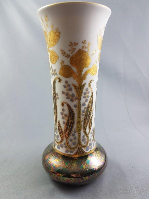 rosenthal vase classic rose h dresler handgemalt signiert wie jugendstil ebay. Black Bedroom Furniture Sets. Home Design Ideas