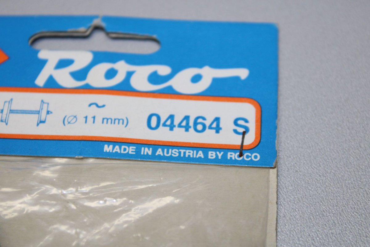 12 x Präzisions-Radsatz Roco Lkdm 11,0 mm Achse 26,0 mm H0 DC f ältere Wagen