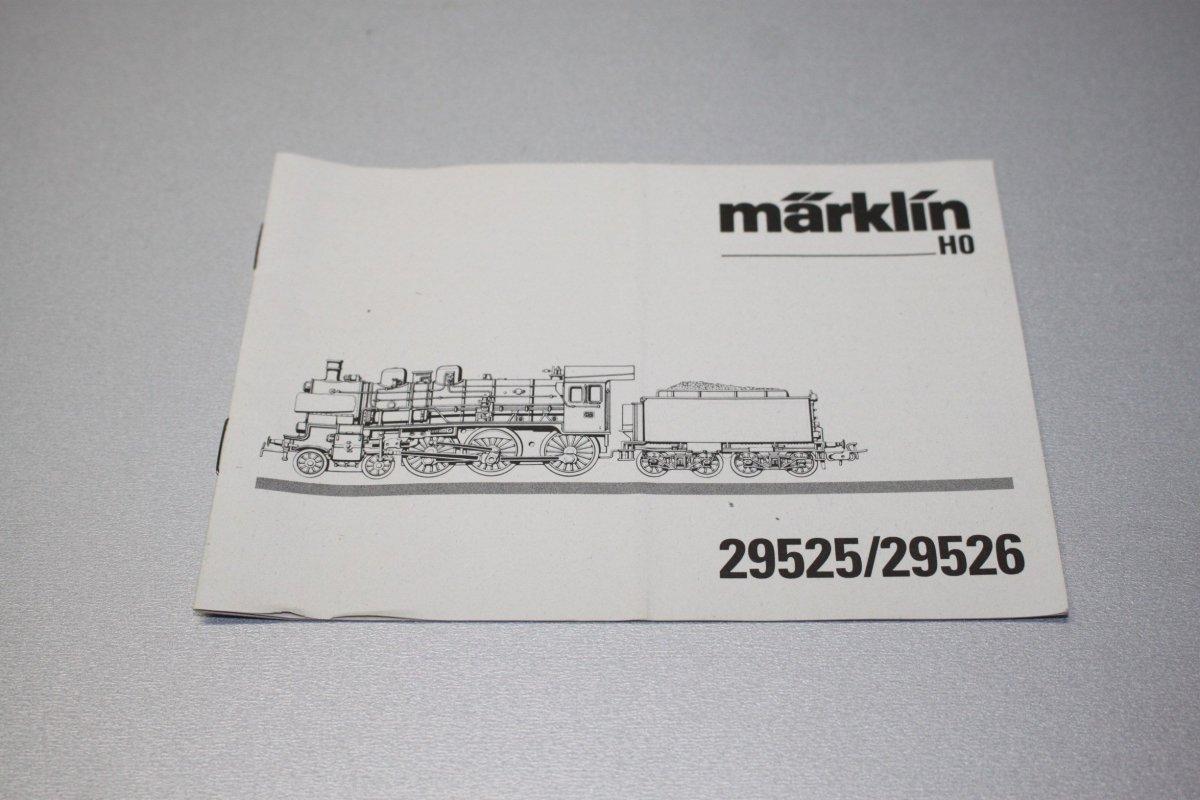 Marklin Betriebsanleitung 29525 Und 29526 Baureihe 38 Spur H0 Ebay