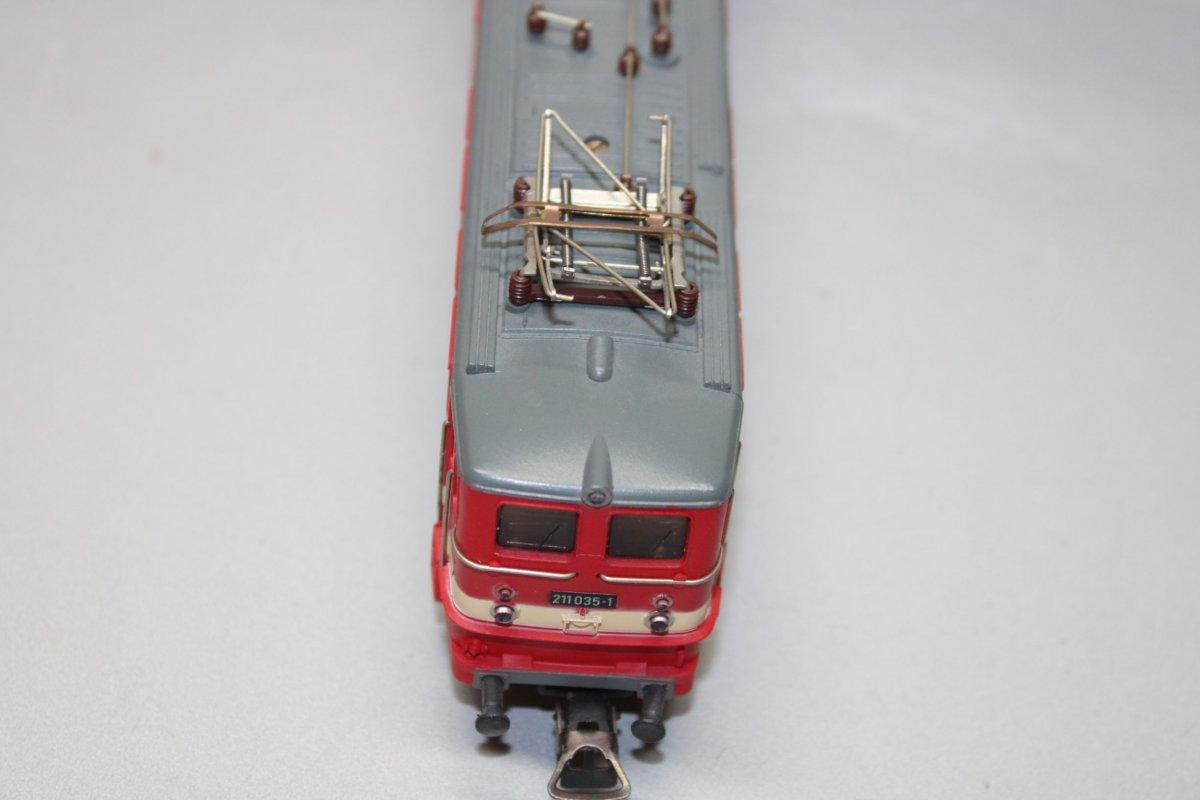 Piko ELOK Série 211 035-1 DR rouge//beige Piste h0 neuf dans sa boîte