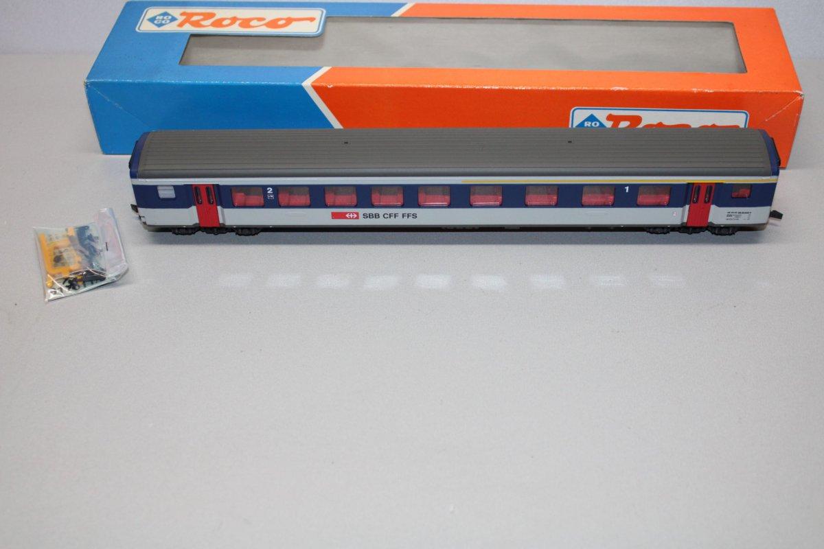 Roco 44730 4-Achser Personenwagen 1.//2.Klasse SBB Spur H0 OVP