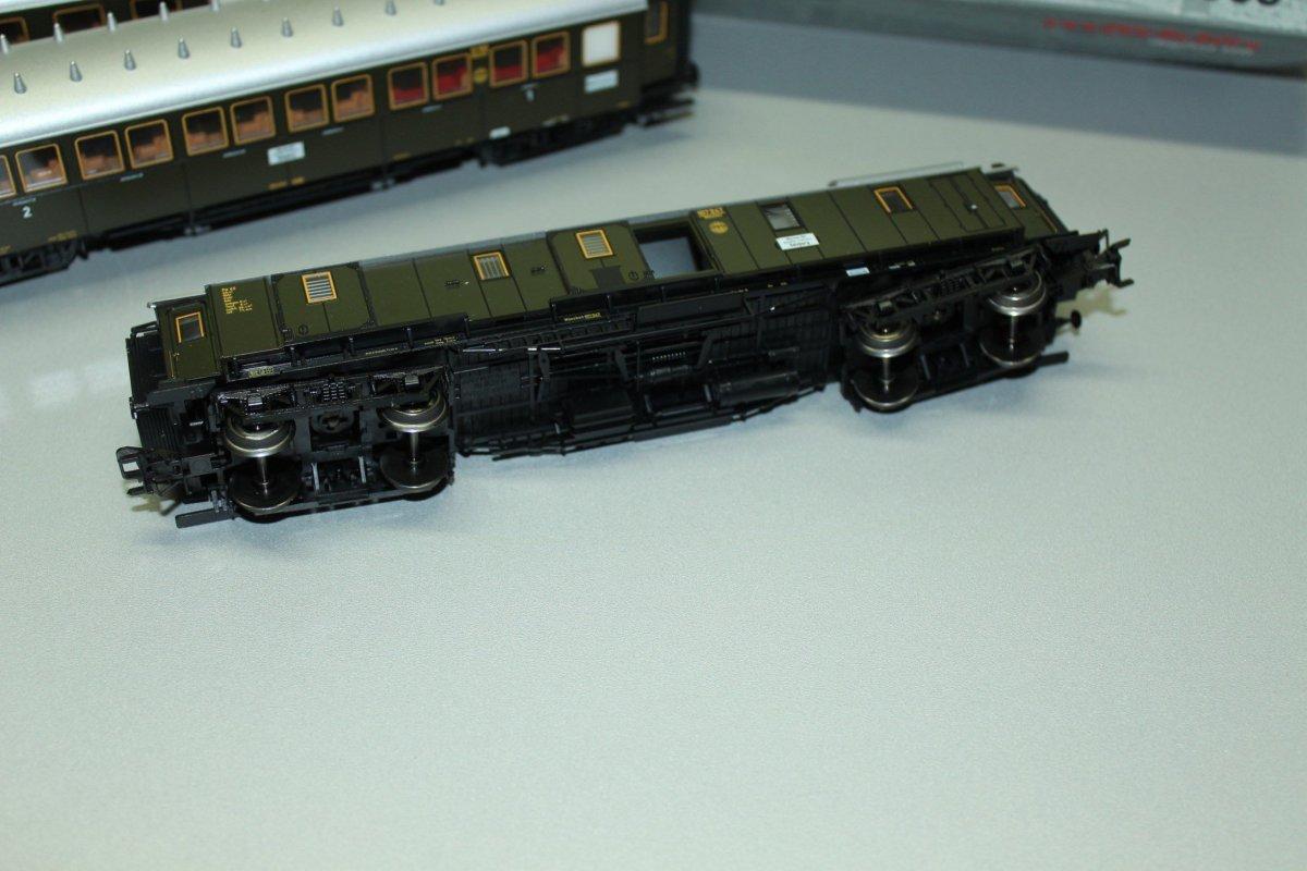 nuevo en OVP Märklin 46401 vagones-set DRG
