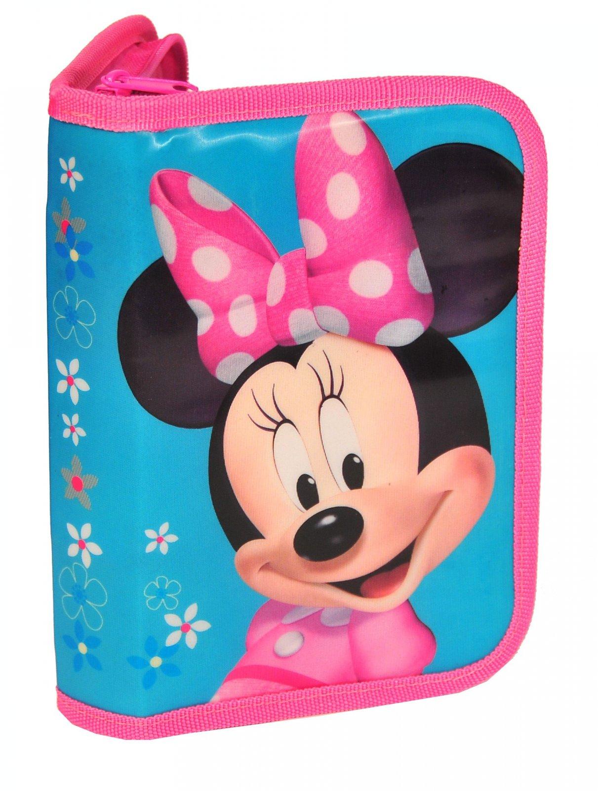 Turnbeutel Federmappe Set Rucksack Minnie Maus Schulrucksack Disney  DNN-081