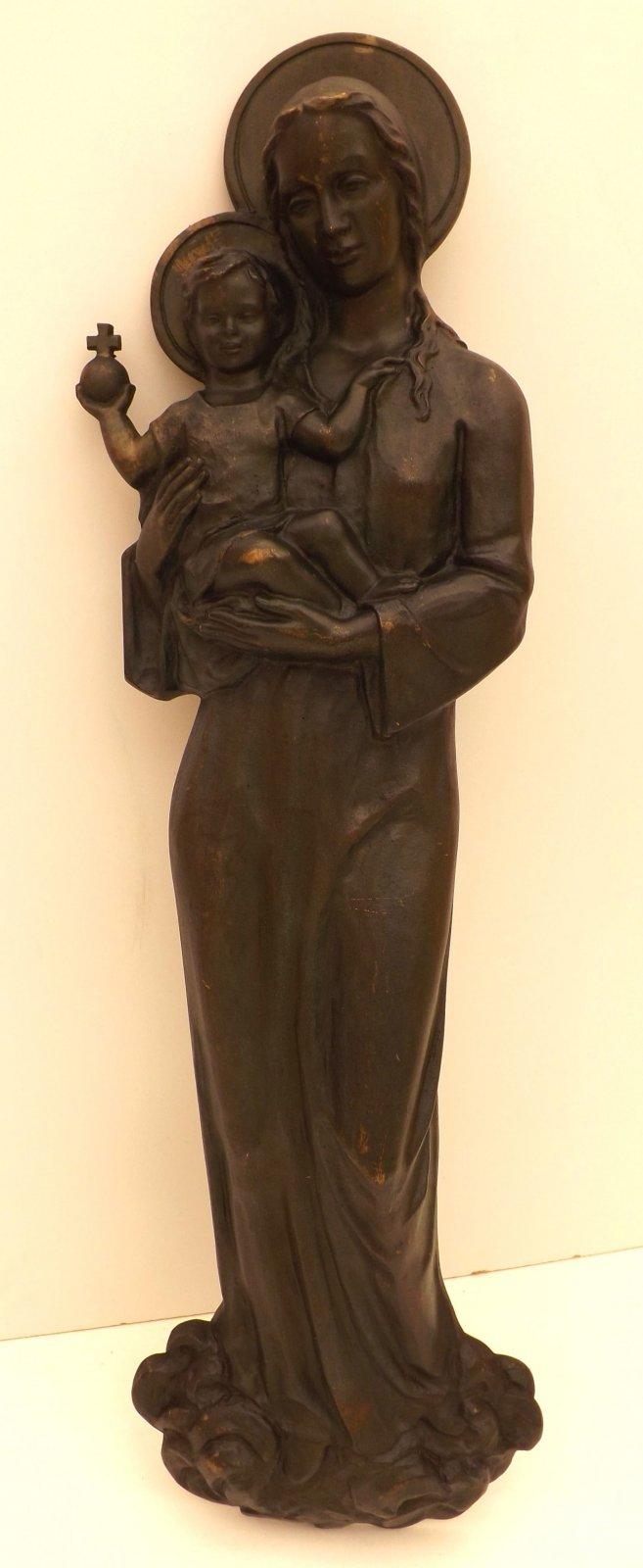 Business & Industrie Grabschmuck Bronze Skulptur Jesus Volkskunst