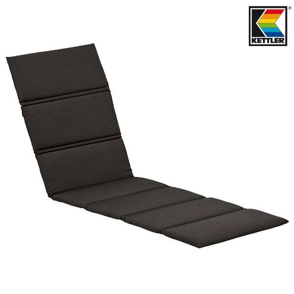 2 kettler auflagen fuer liegen liegenauflagen liegenpolster gartenliegen kissen ebay. Black Bedroom Furniture Sets. Home Design Ideas