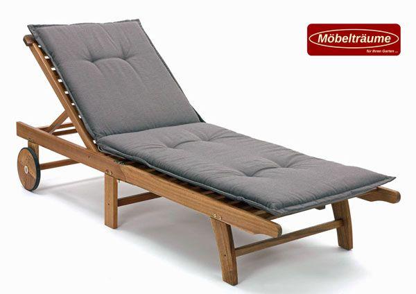 auflagen f r liegen gartenliegen 190 cm lang 6 cm dick rio. Black Bedroom Furniture Sets. Home Design Ideas
