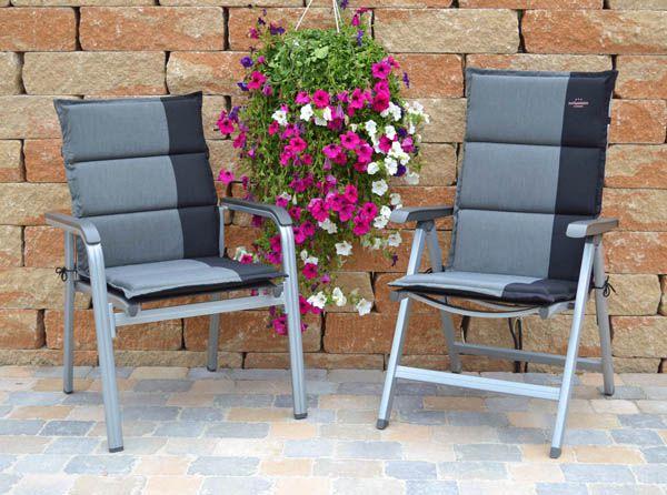 10 x auflagen f r hochlehner sessel mittellehner niederlehner stapelstuhl kissen ebay. Black Bedroom Furniture Sets. Home Design Ideas