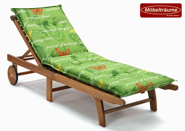 luxus auflagen f r liegen 190 x 60 cm lang 8 cm dick ibiza 40240 215 in gr n ebay. Black Bedroom Furniture Sets. Home Design Ideas
