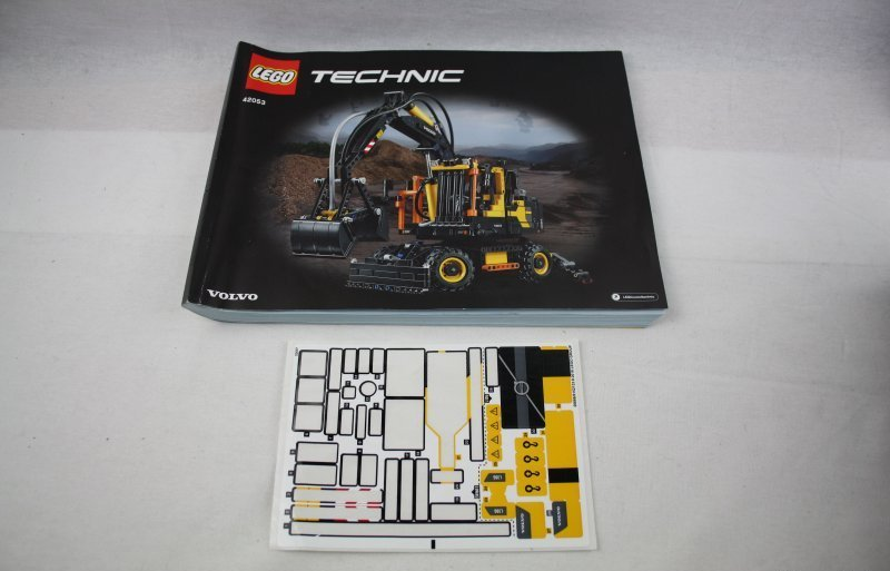 lego technic 42053 volvo bagger ew160e mobilerbagger. Black Bedroom Furniture Sets. Home Design Ideas
