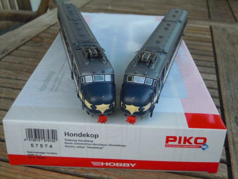 """Piko h0 57370 elektrotriebwagen /""""Hondekop/"""" Benelux NMBS AC article neuf"""