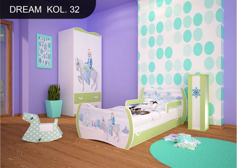 Toyland 12 x 60 mm Ice Blue//Baby Blue Glitter Matt Christbaumkugeln