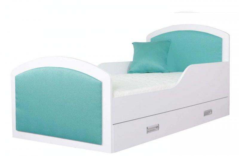 neu gepolstertes kinderbett mit matratze schublade und lattenrost dreams 160x80 ebay. Black Bedroom Furniture Sets. Home Design Ideas