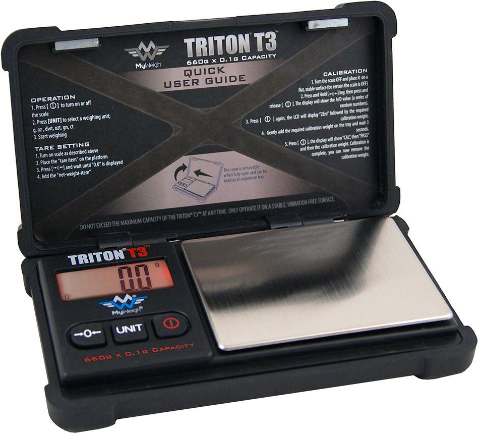 0,1g Digitalwaage Feinwaage Münzwaage MyWeigh Triton T2 XL Taschenwaage 1000g