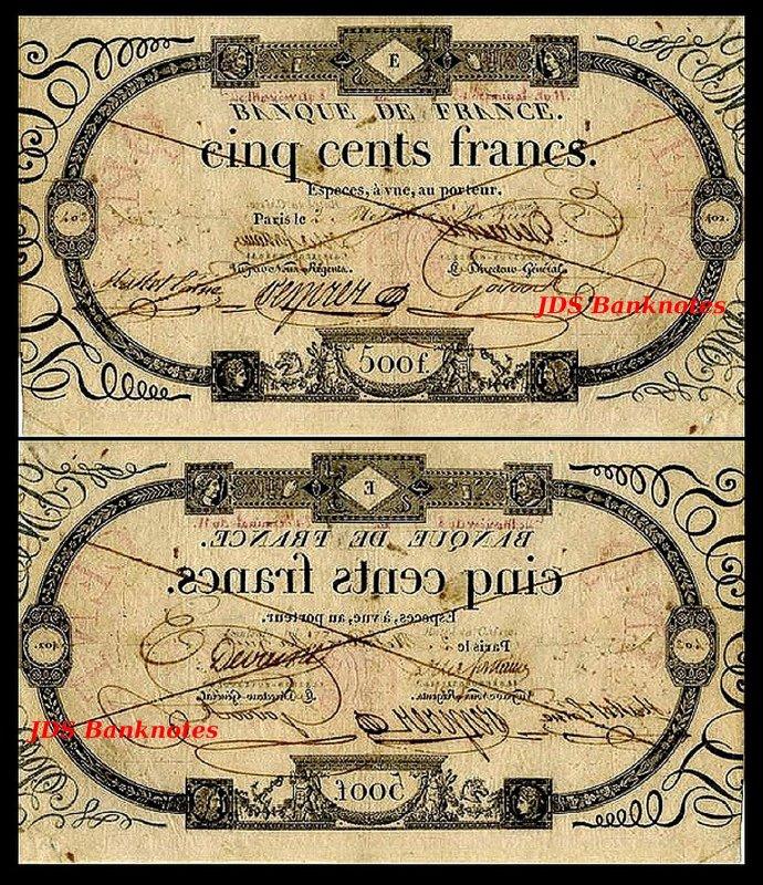 MONACO 1 Franc 1920s Overprint 1922s Reproductions