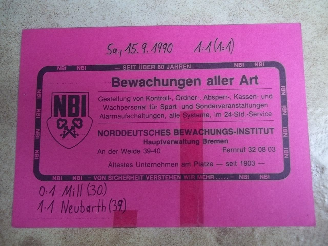 Bremen Dortmund Tickets