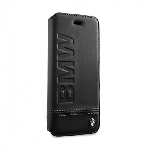 brand new 76a22 26850 Details about BMW Real Leather Phone Cover Iphone 8, 7, 6s Book Case Case  Cover Black