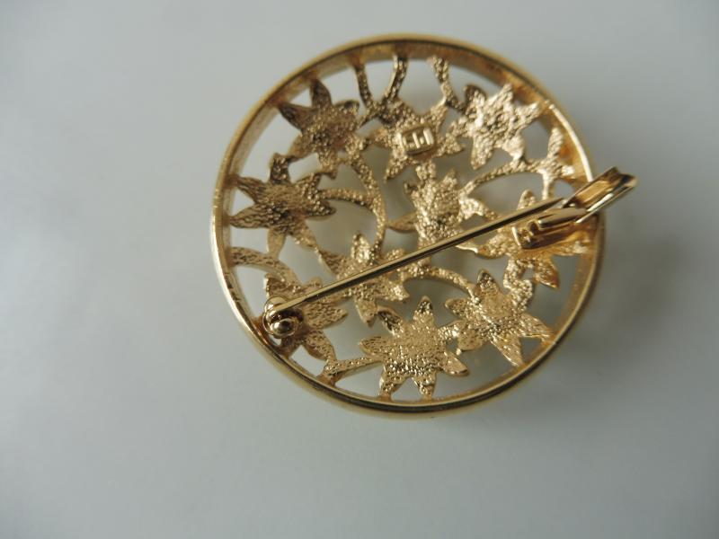 Earnest Brosche Pl Pierre Lang Vergoldet Modeschmuck Uhren & Schmuck