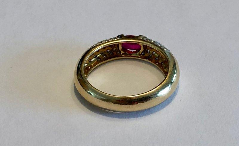 Ring Armreif Set Panther Gelb-Gold Gold Panthers Größenverstellbar Carter