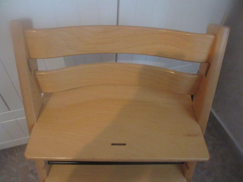 original stokke tripp trapp hochstuhl buche lackiert treppenhochstuhl holz ebay. Black Bedroom Furniture Sets. Home Design Ideas