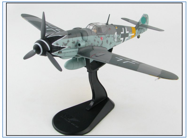 "Hobbymaster 1:48 NEU 11//20 /& HA8750//2 Bf-109G-6 4.//JG 52 /""Erich Hartmann/"",1944"