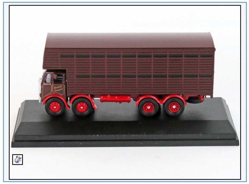 "NEU /& ATKL005 Atkinson 4-axle cattle truck /""Davies /& Sons/"",Oxford 1:76"