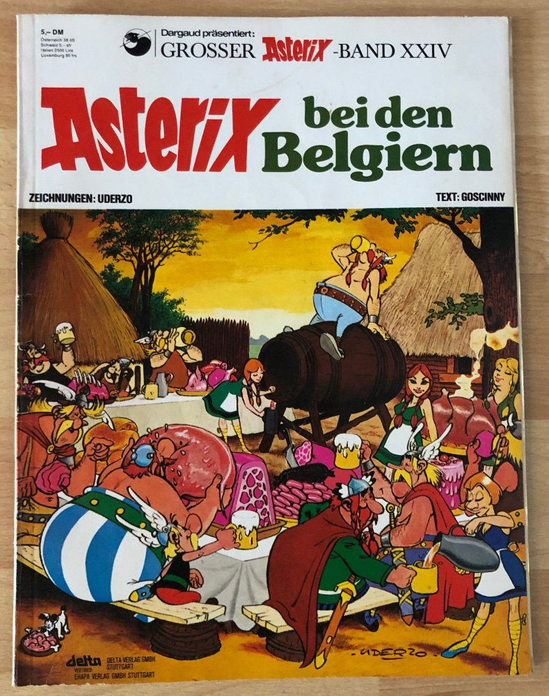 Neuester Asterix Band