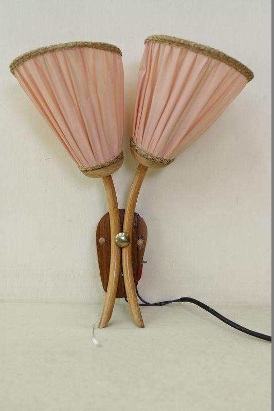 antique applique murale lampe culte r tro design ann es 50 39 60 sac vintage ebay. Black Bedroom Furniture Sets. Home Design Ideas