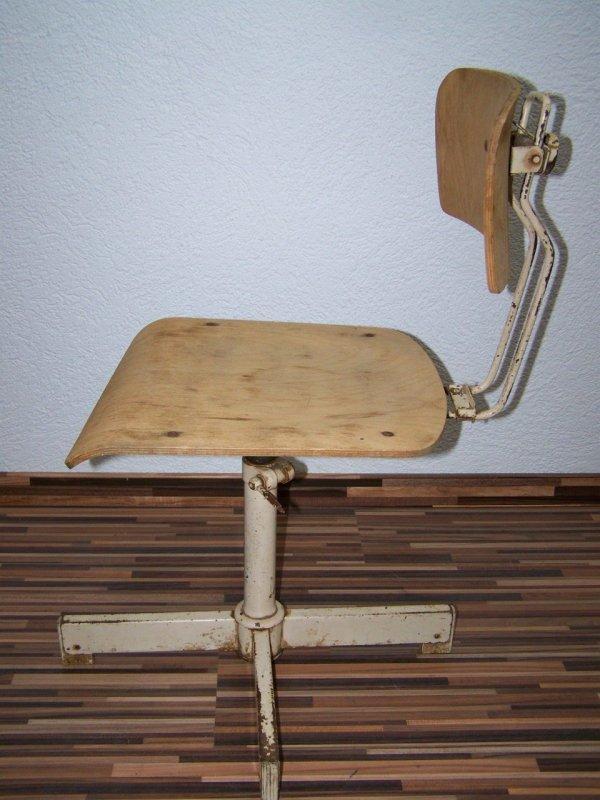 Antico sedia officina design girevole vintage da ufficio for Sedia design girevole