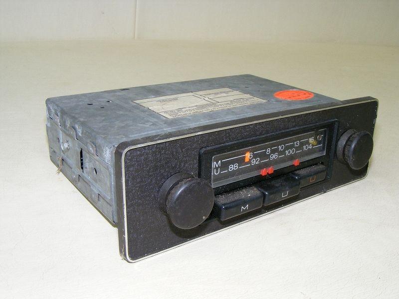 ancien voiture ancienne autoradio radio blaupunkt ftz n u108 ebay. Black Bedroom Furniture Sets. Home Design Ideas