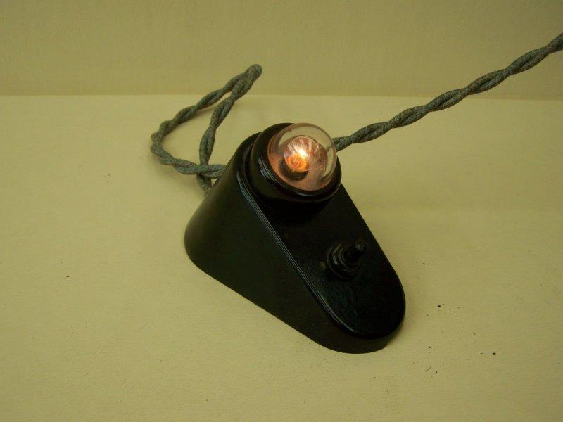 Alte lampe 30er 40er jahre art deco lampe wandlampe for Lampen 40er jahre