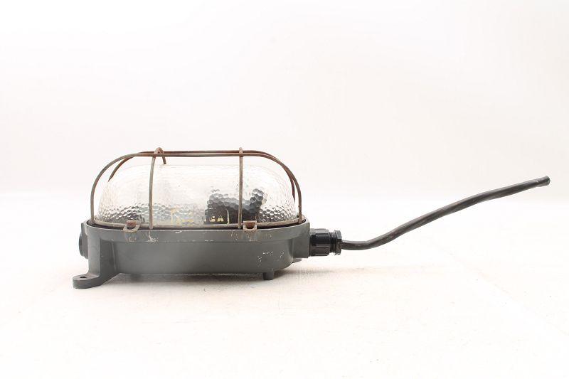 Confident Antique Lamp Industrial Lamp Cellar Lamp Ex Industrie Loft Schildkrötenlampe Antiques