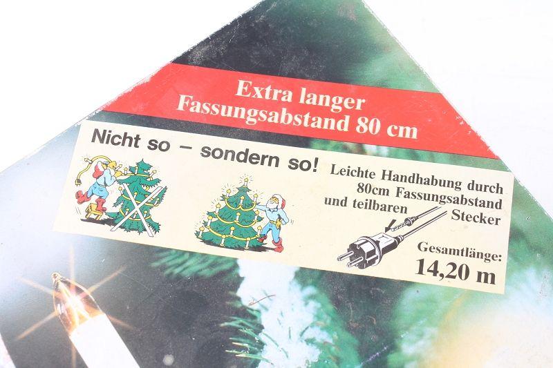 alte lichterkette au en beleuchtung kerzen baumbeleuchtung weihnachten ebay. Black Bedroom Furniture Sets. Home Design Ideas