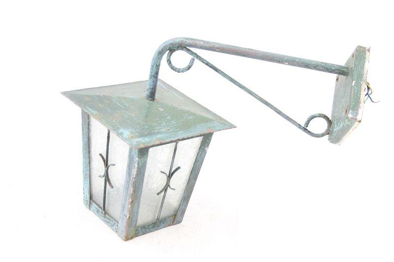 Vecchio lanterna lampione giardino illuminazione per esterni lampada