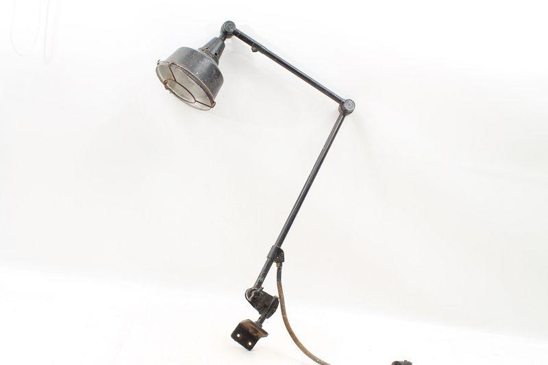 **NEU** Midgard 1980 Kahla Klemmlampe Tischlampe Architekten Gelenk Büro Lampe
