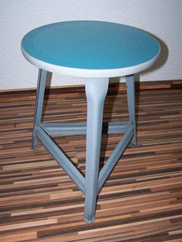 ancien tabouret de m decin designer tabouret m tal vintage tabouret d 39 atelier ebay. Black Bedroom Furniture Sets. Home Design Ideas