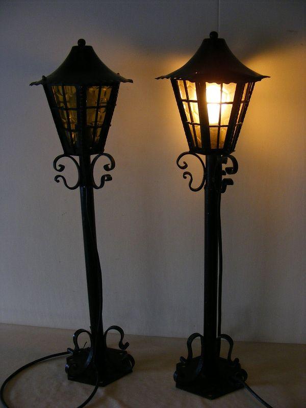 ancienne luminaire d 39 ext rieur lampe de jardin clairage ext rieur lampe ebay. Black Bedroom Furniture Sets. Home Design Ideas