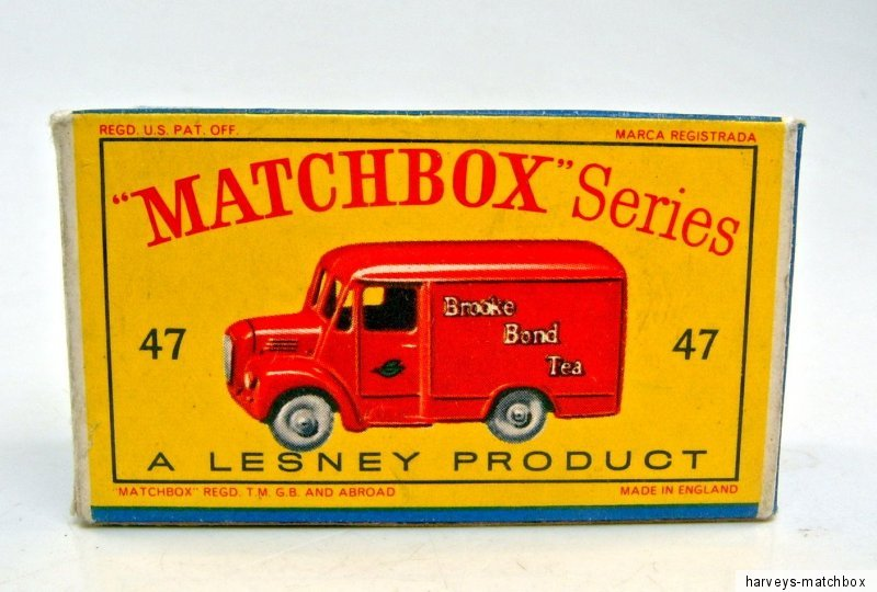 Repro box MATCHBOX 1:75 Nº 47 trojan van
