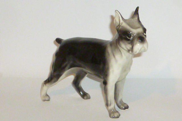 2pcs Simulation Bull Terrier Animal Model Dog Statue Figure Kid Figurine Toy