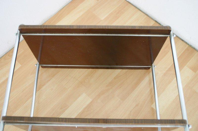 60er 70er jahre servier tee bar wagen dinett servierwagen tisch palisander opti ebay. Black Bedroom Furniture Sets. Home Design Ideas