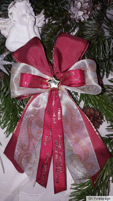 * Set aus 2 Anhänger Kasper Jasper Glitzer Kunststoff Poly sortiert Weihnachten