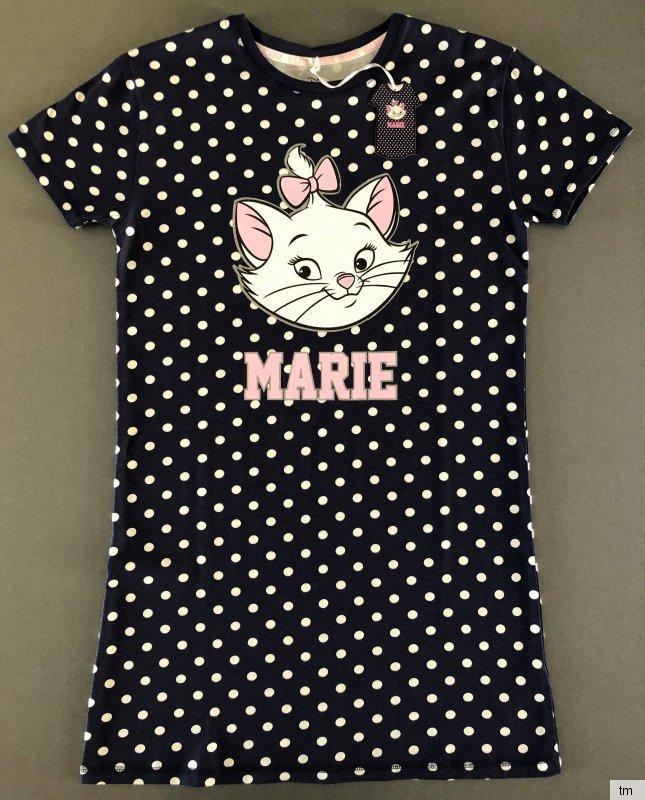Disney Mickey Mouse Nachthemd Kurzarm Bigshirt Schlafshirt Sleepshirt XS-S-M Leo