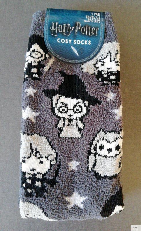 Harry Potter Damen Socken Hogwarts Brief Strümpfe Grau 37-38-39-40-41-42 Primark