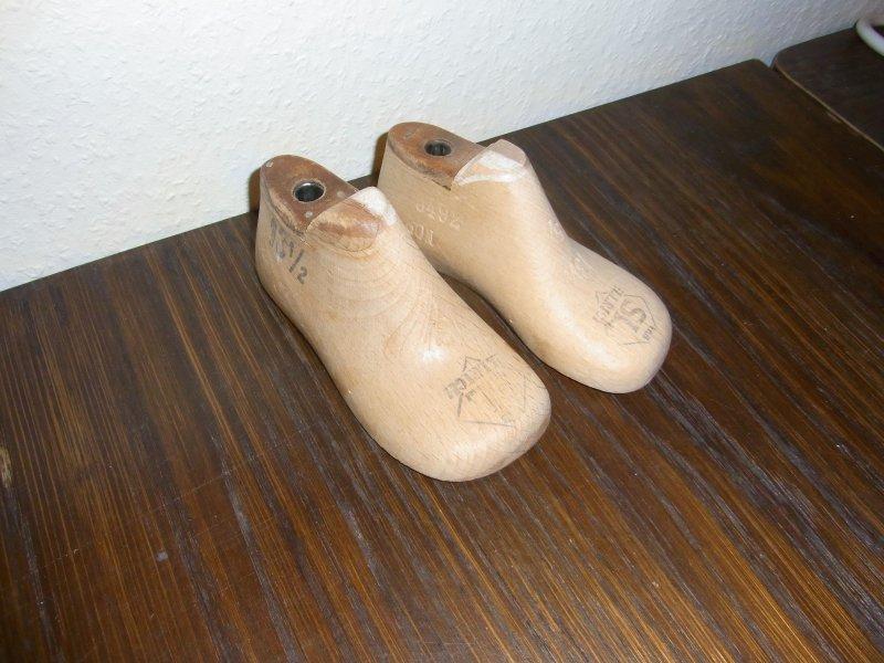 alte Kinder Schusterleisten Schuhleisten 1 Paar 13,5cm lang 5 1//2 breit Mini
