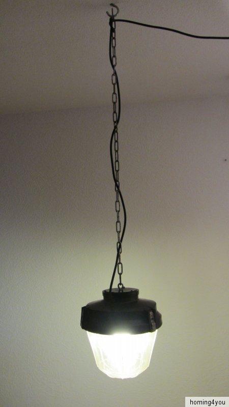 industrie lampe werkstattlampe h ngelampe keller fabrik leuchte wuppertal. Black Bedroom Furniture Sets. Home Design Ideas