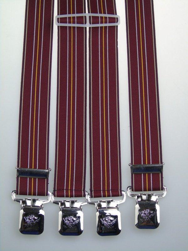 starke Hosenträger 35 mm breit Krallenclips Deutschland extra starke Clips