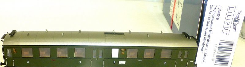 Müglitztalbahn C4i Bauart Altenberger Ep II Liliput L334519 H0 1:87 OVP HF6 µ